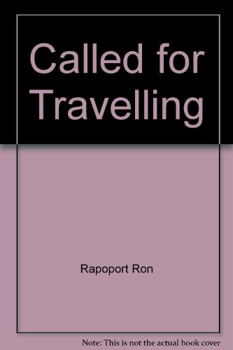 9780025833500: Called for travelling