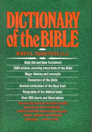 9780025834705: Dictionary of the Bible Reprint