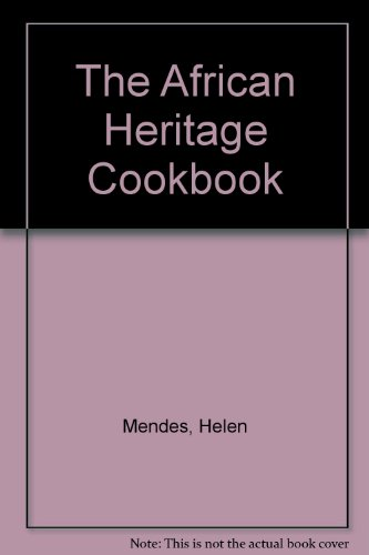 9780025842106: The African Heritage Cookbook