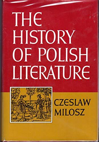 9780025850101: The history of Polish literature