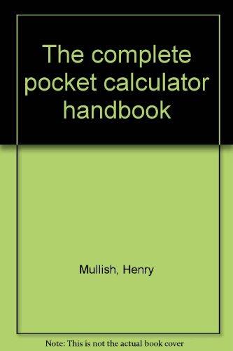 9780025879201: The complete pocket calculator handbook
