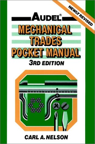 9780025886650: Mechanical Trades Pocket Manual, 3rd Edition