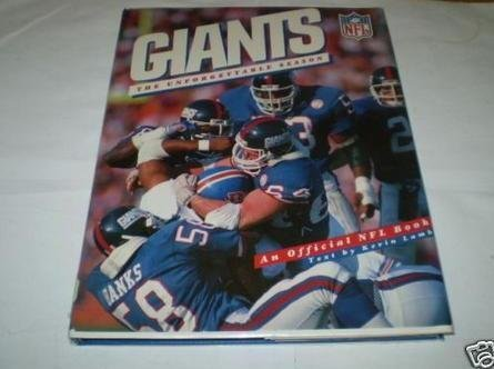 9780025890206: Giants: The Unforgettable Season
