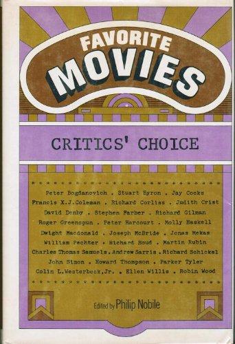 9780025898004: Favorite Movies:: Critics' Choice,