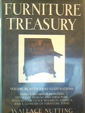 9780025910409: Furniture Treasury, Vol. 3