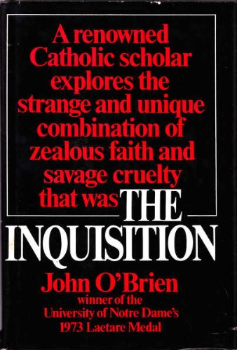9780025914001: The Inquisition