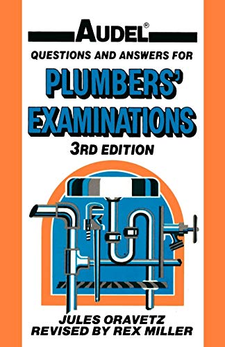 9780025935105: Audel Questions and Answers for Plumbers' Examinations