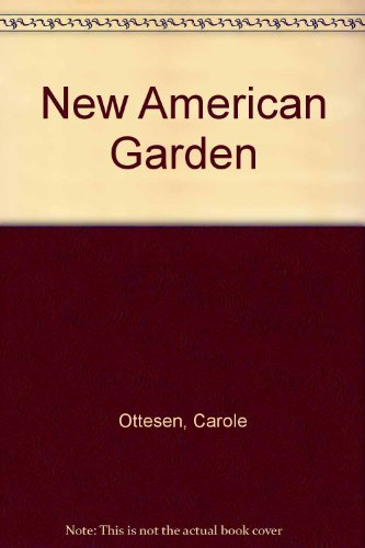 9780025940901: New American Garden