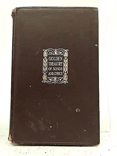 9780025944107: Golden Treasury of Songs and Lyrics