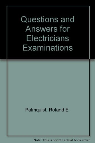 9780025946910: Questions and answers for electricians examinations