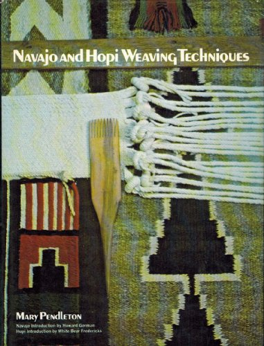 9780025955004: Navajo and Hopi Weaving Techniques