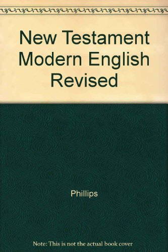 9780025970601: New Testament Modern English Revised