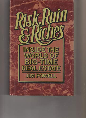 9780025985308: RISK RUIN AND RICHES