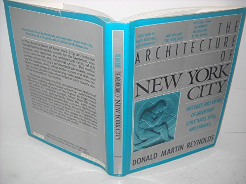 9780026024006: Architecture of New York City: Histories and Views of Important Structures, Settings, and Symbols