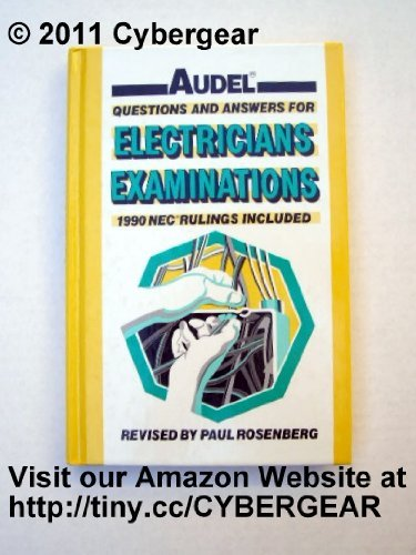 9780026049559: Audel Questions and Answers for Electricians' Examinations