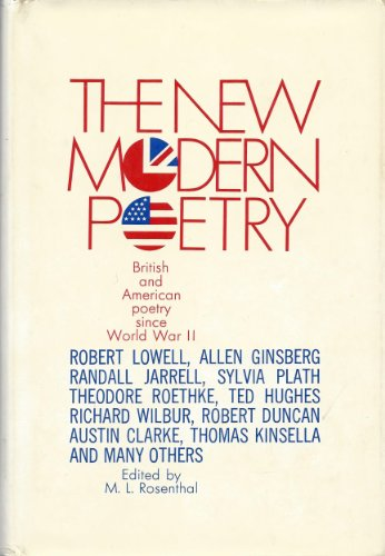 9780026049900: The New Modern Poetry: British and American Poetry Since World War II
