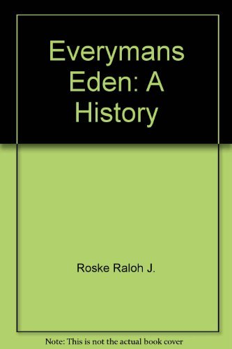 9780026050302: Everymans Eden: A History