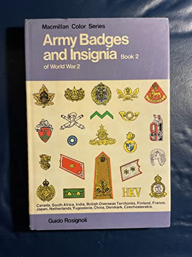 9780026050807: Army Badges and Insignia of World War Ii, Book 2