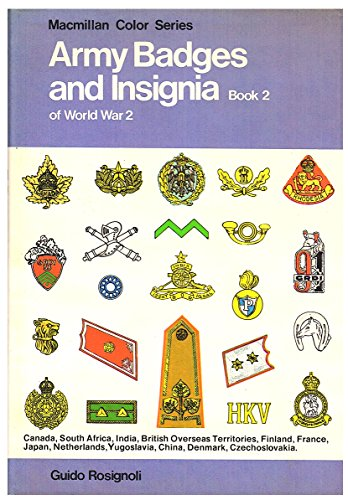 9780026050807: Army Badges & Insignia of World War 2