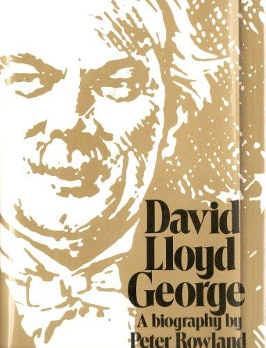 9780026055901: David Lloyd George: A Biography