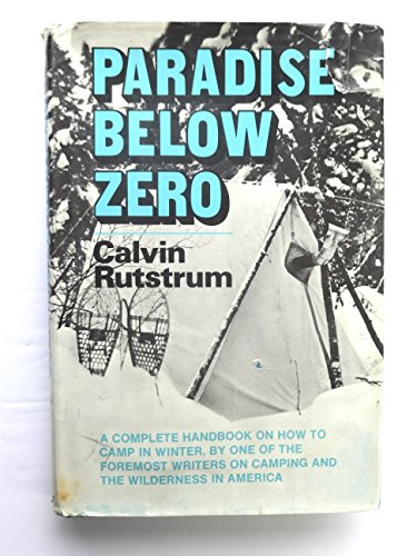 9780026063203: Paradise Below Zero.