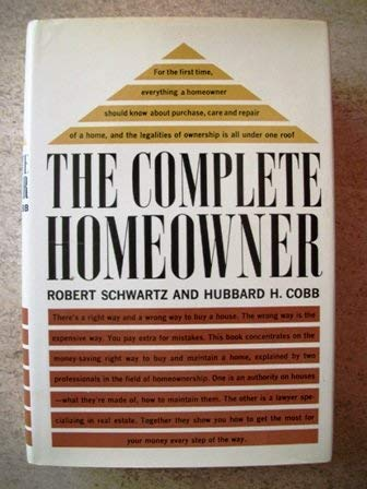 9780026077309: Complete Homeowner