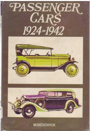 Passenger cars, 1924-1942: Michael Sedgwick