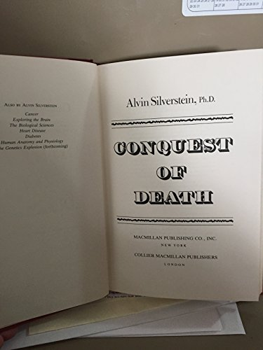 9780026109307: Conquest of Death