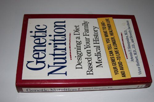 9780026112956: Genetic Nutrition: Designing Diet Based on Your Family Medical History