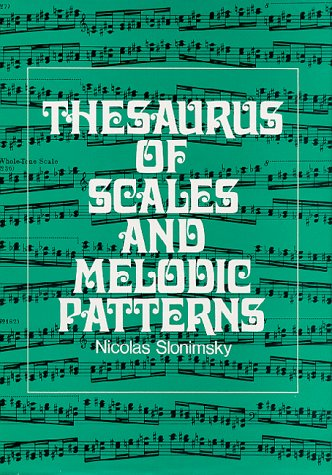 9780026118507: Thesaurus of Scales and Melodic Patterns