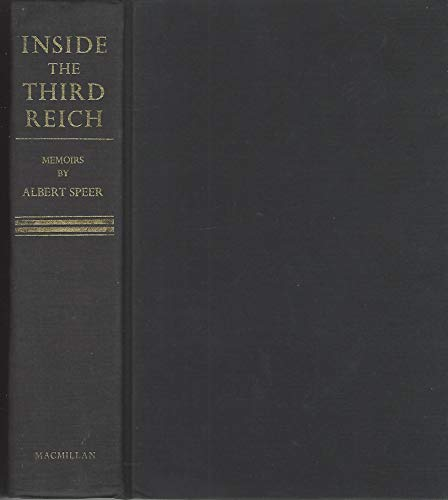 9780026128209: Inside the Third Reich Hdbd