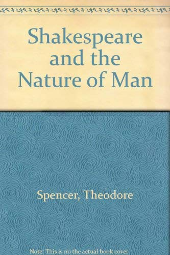9780026129206: Shakespeare and the Nature of Man