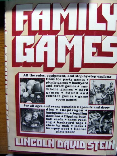 9780026137508: Family Games