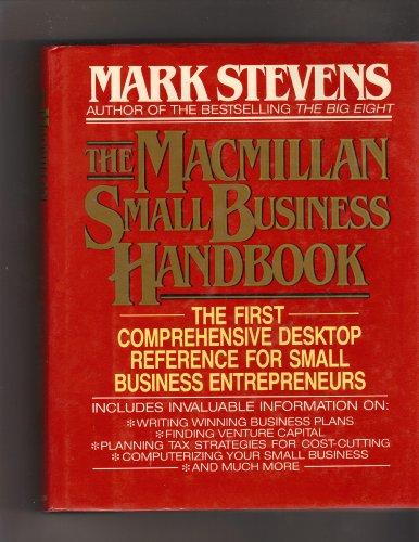 9780026144902: Macmillan Small Business Handbook