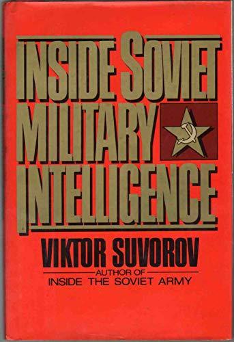 9780026155106: Inside Soviet Military Intelligence