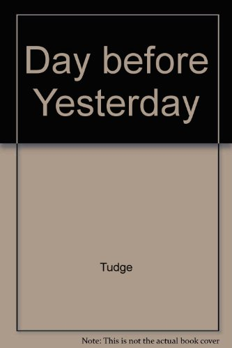 9780026203357: Day before Yesterday