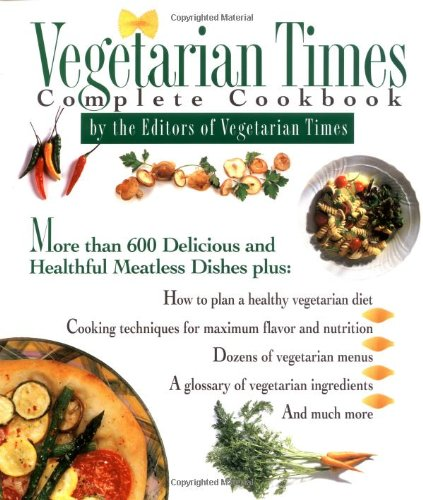 9780026217453: Vegetarian Times Complete Cookbook