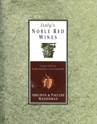 9780026242813: Italy's Noble Red Wines