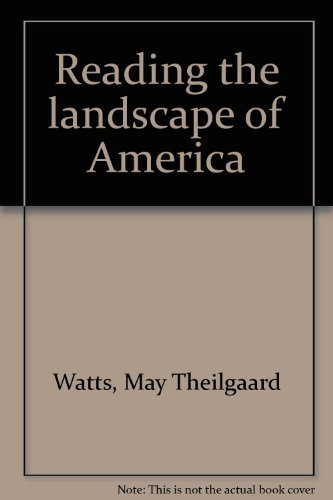 9780026244008: Reading the landscape of America