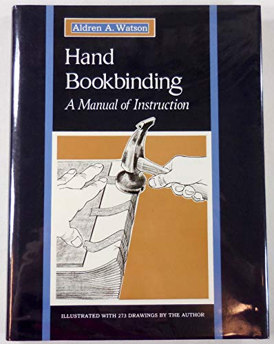 9780026244305: Hand Bookbinding: A Manual of Instruction