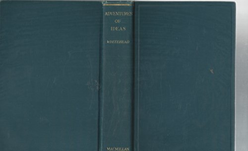 9780026272209: Adventure of Ideas