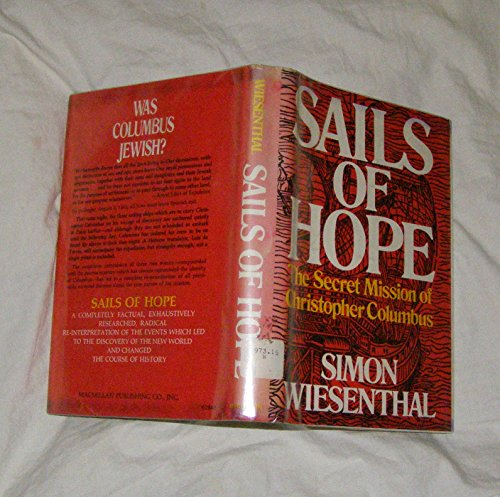 9780026284004: Sails of Hope: The Secret Mission of Christopher Columbus