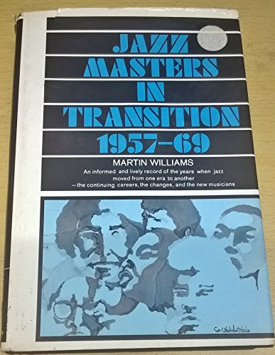9780026293907: Jazz Masters in Transition, 1957-69