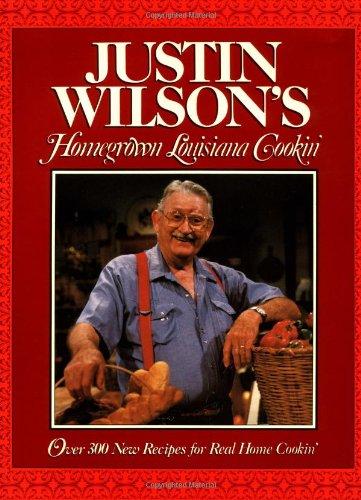 9780026301251: Justin Wilson's Homegrown Louisiana Cookin'