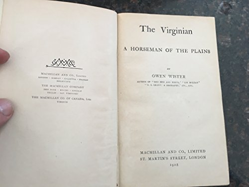 The VIRGINIAN: Wister