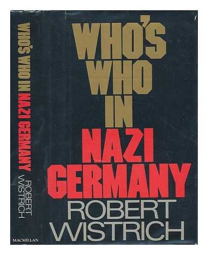 9780026306003: Who's who in Nazi Germany