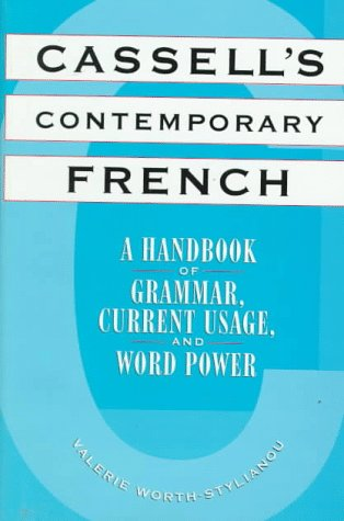 9780026315630: Cassell's Contemporary French: A Handbook of Grammar, Current Usage, and Word Power