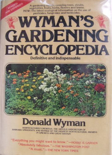 9780026320603: Wyman's Gardening Encyclopedia, Revised & Expanded Edition