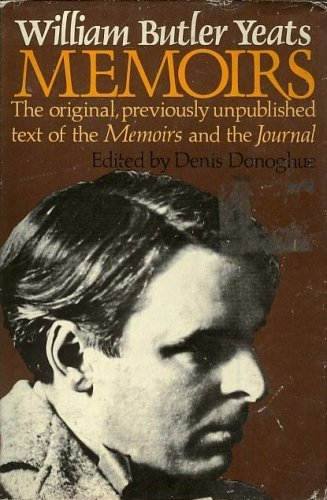 9780026326209: William Butler Yeats Memoirs