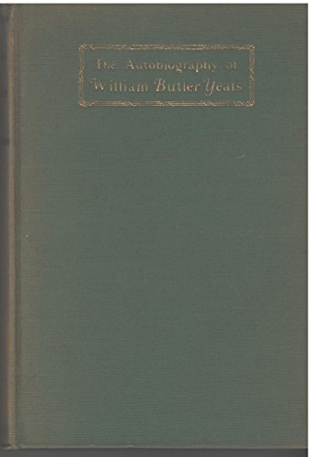 9780026327107: AUTOBIOGRAPHY OF W.B. YEATS